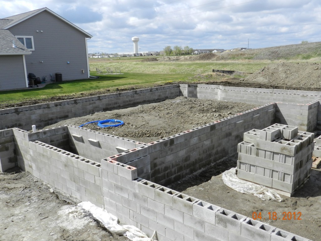 Foundations creative masonry construction for Foundations for homes